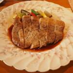 うさぎの小屋 - ランチコース ランチコース 肉メイン ローストポーク