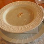 うさぎの小屋 - ヤーコンのスープ