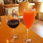 うさぎの小屋 - ワインとノンアルコールドリンク