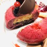 129778415 - ケーキは大好きなラズベリー×ショコラ☆彡