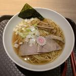 washokubaruhareruya - 煮干し中華そば 500円