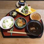 京料理阿部 - 料理写真:ランチ ¥1100税込