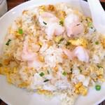 美山飯店 - えび♡チャーハン 胡椒がふわっと香る 好きな味のチャーハンでした!