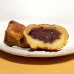 藤田九衛門商店 - 花豆を使ったあんは、甘さ穏やか。さらに豆の香りも十分ある