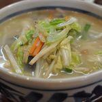 知味笑龍 深澤ラーメン - 塩タンメン