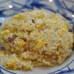 知味笑龍 深澤ラーメン - 半チャーハン350円(ノーマルサイズが定番700円)