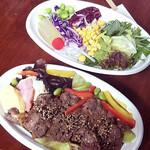 柊山ガーデン - サーロインステーキ丼
