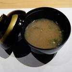 鮨 ふくじゅ - 味噌汁