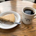 CISCO - ニューヨークチーズケーキとコーヒー