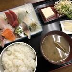 さかな食人 - 料理写真:刺身定食