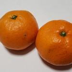 自然食 あしたや - 料理写真:有機みかん(375円)です。