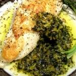 ベジバル Itaru 池袋 ~Vegetable Bar & Organic~ - 鶏肉ソテー・野沢菜バターソース