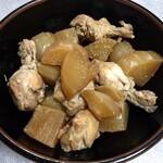 味農家 - 大根と鶏手羽の煮物