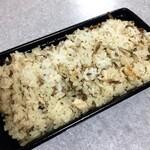 味農家 - 鶏ごぼう土鍋炊き込みご飯
