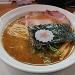 麺匠うえ田 - <濃厚>魚介とんこつラーメン