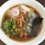 麺や 河野 - 細切りメンマがいい食感〜