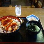 紅梅 - 「紅梅」ソースかつ丼
