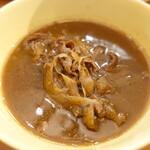 129807507 - 牛と土ごぼうのつけ麺
