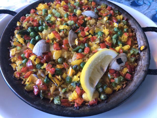 アランダルースの料理の写真