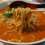 和正 - 料理写真:細めのストレート麺