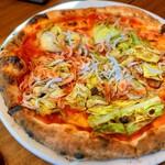 PIZZA SALVATORE CUOMO - シラスと桜海老のピッツァ