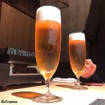 すきや 川また - 生ビール