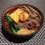 すきや 川また - 鹿児島黒毛和牛と菊菜、玉麩、焼豆腐