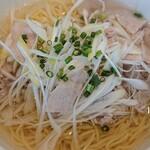 同心居 - 豚ネギ塩麺¥900