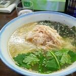 麺屋 Booth - 鶏塩わさびラーメン