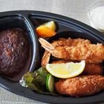 ダイニングキノシタ - デラックス洋食弁当