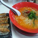 Akamaru - 坦々麺 餃子5個