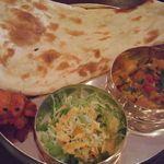 インド料理 GAUTAMA - アルゴビカレーランチ(\780)