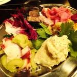 カンテラ - 前菜盛り合わせ