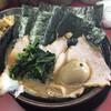 家系ラーメン 王道家 - 料理写真:ねぎチャーシュー麺 中盛 海苔、半熟玉子トッピング