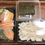 無添くら寿司 - 手巻きセット(2〜3人前) 980円