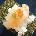 無添くら寿司 - えんがわ+いくら