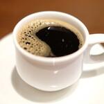 キュル・ド・サック - ランチセット 1000円 のコーヒー