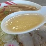 佐野ラーメン いってつ - スープ