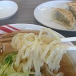 佐野ラーメン いってつ - 麺