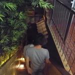 越後屋 三太夫 - 階段で地下に下りちゃいます