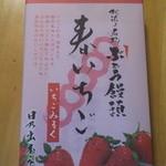 12984643 - ぶどう饅頭「針いちご」9本入り 630円 外の包み紙
