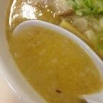 らーめん五丈原 - スープ
