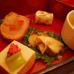 隠れ房 - 前菜だけどもお腹いっぱい(;゜0゜)