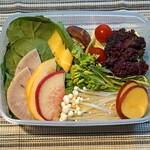 ファイヤーホール4000 - 新鮮野菜10種盛り合わせ
