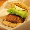 Kitakamakuraouchikafe - 料理写真:<テイクアウト>のっぽバーガー