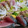 いごっそう 彩肴 - 料理写真:【テイクアウトメニュー】自家製藁焼きかつお塩タタキ