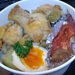 ひなたキッチン - なんとか鶏のコンフィ丼