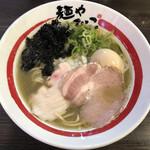 麺や でこ - 追い煮干しそば(880円)+味玉(120円)