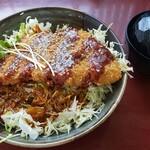 とんかつきのや - 料理写真:味噌カツ丼(大盛)