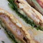ザ・サンドイッチスタンド - 綺麗にまとめられています